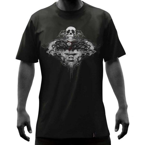Camisa-negra-calaveragrisyrosas-frente