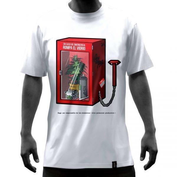 Camisas-frente-caja-de-mariahuana-blanca-2